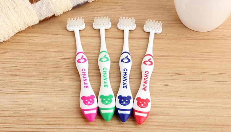 纯洁牌T型竖刷式牙刷· 儿童装(CJ001)